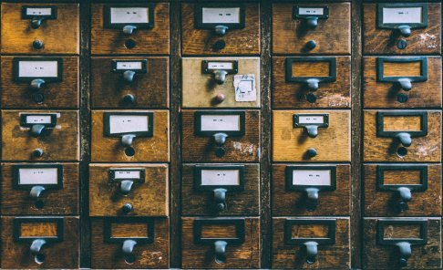 sanwal deen. library card catalog